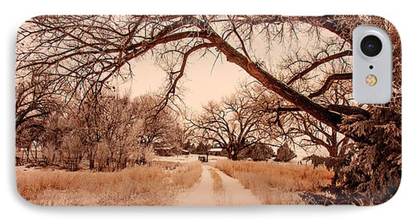 IPhone Case featuring the photograph Going Home by Shirley Heier
