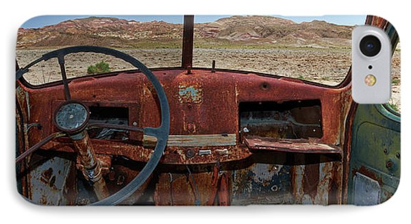 Truck iPhone 7 Case - Going Nowhere... by Dennis D Croxall