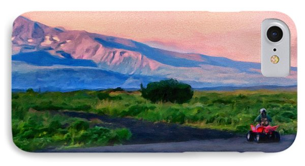 Going To School Cold Bay Style IPhone Case by Michael Pickett