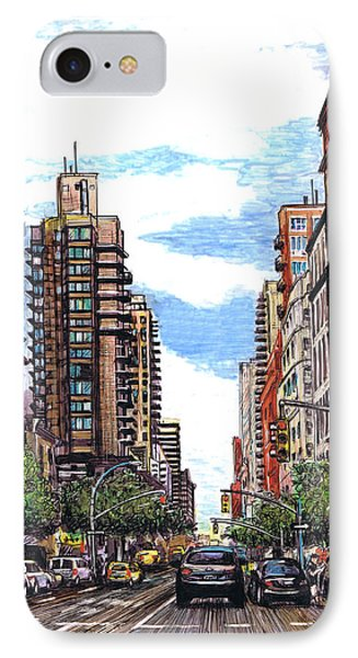 Going Uptown IPhone Case