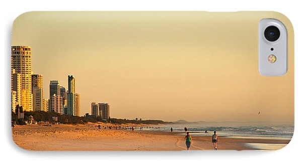 IPhone Case featuring the photograph Gold Coast Beach by Eric Tressler