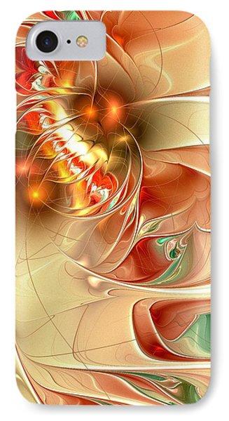 Gold Fish IPhone Case by Anastasiya Malakhova