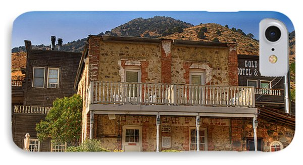 Gold Hill Hotel And Saloon Phone Case by Donna Kennedy