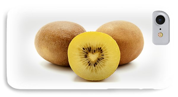 Gold Kiwifruit IPhone Case by Fabrizio Troiani