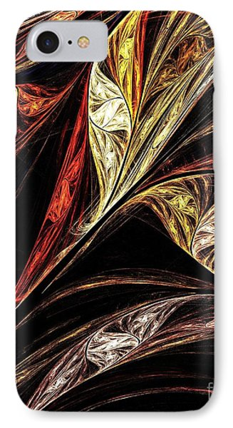 Gold Leaf IPhone Case by Elizabeth McTaggart