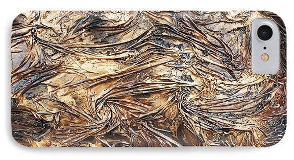Gold Mining IPhone Case by Angela Stout