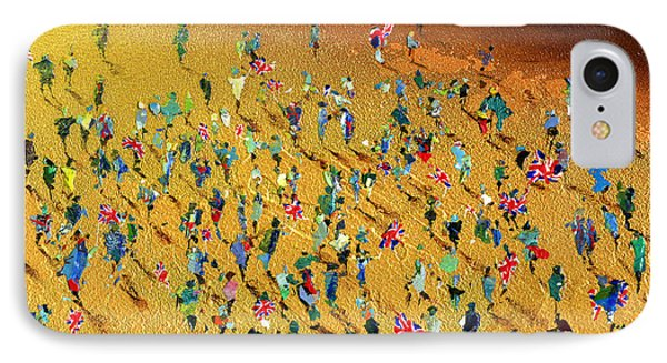 Gold Rush Phone Case by Neil McBride