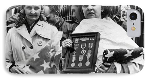 Gold Star Mothers Protest War IPhone Case