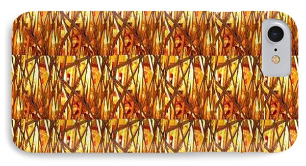 IPhone Case featuring the photograph Gold Strand Sparkle Decorations by Navin Joshi
