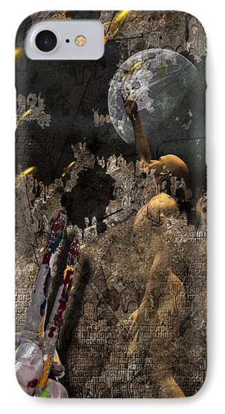 IPhone Case featuring the digital art Golden Age Of Sci Fi by Bruce Rolff