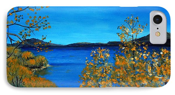 Golden Autumn Phone Case by Anastasiya Malakhova