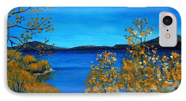 Golden Autumn IPhone Case by Anastasiya Malakhova