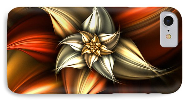 Golden Beauty IPhone Case by Ester  Rogers