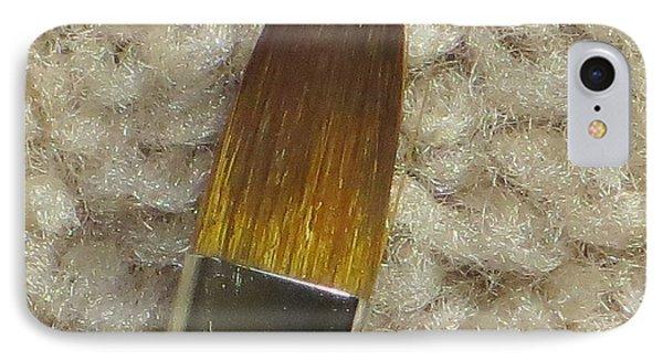 Golden Brush Phone Case by Sonali Gangane