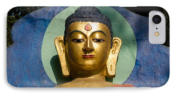 Golden Buddha IPhone Case by Nila Newsom