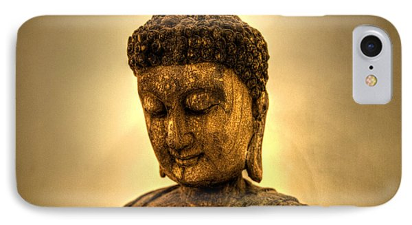 Golden Buddha Phone Case by T Lang