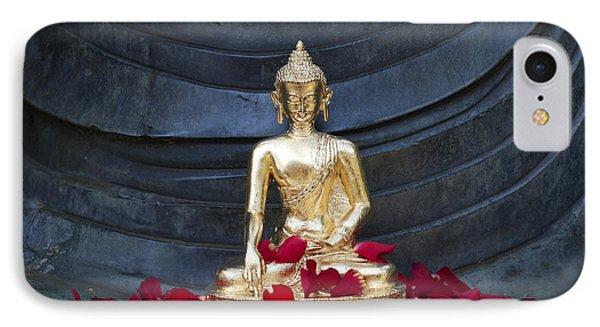 Golden Buddha IPhone Case by Tim Gainey