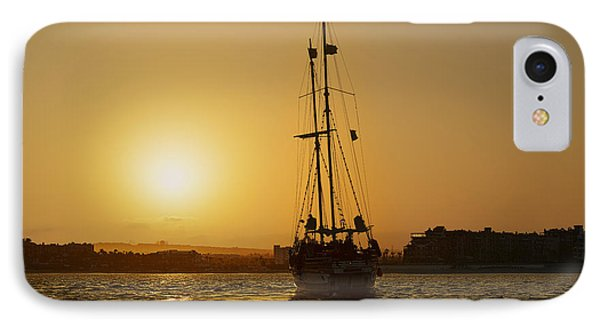 IPhone Case featuring the photograph Golden Cabo Sunset by Christine Till