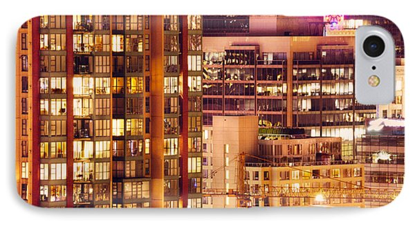IPhone Case featuring the photograph City Of Vancouver - Golden City Of Lights Cdlxxxvii by Amyn Nasser