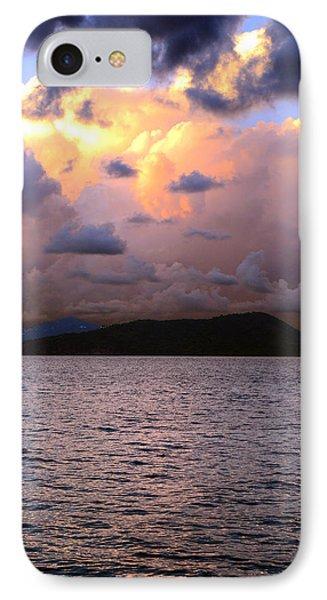 Golden Clouds Phone Case by    Michael Glenn