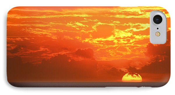 Golden Clouds IPhone Case