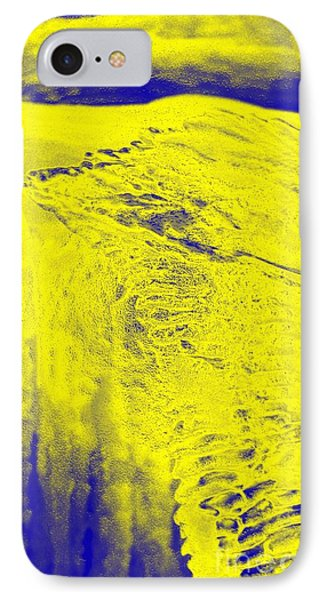 Golden Clouds One Snowy Hill IPhone Case by Feile Case
