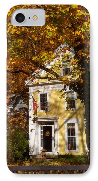 Golden Colonial IPhone Case by Joann Vitali