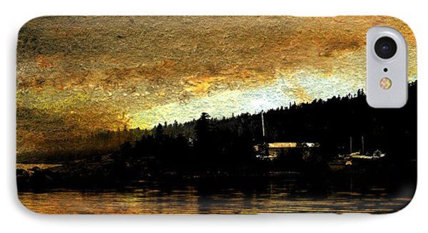 Golden Cove IPhone Case by R Kyllo