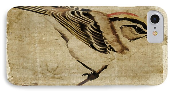 Golden-crowned Kinglet IPhone Case by Carol Leigh