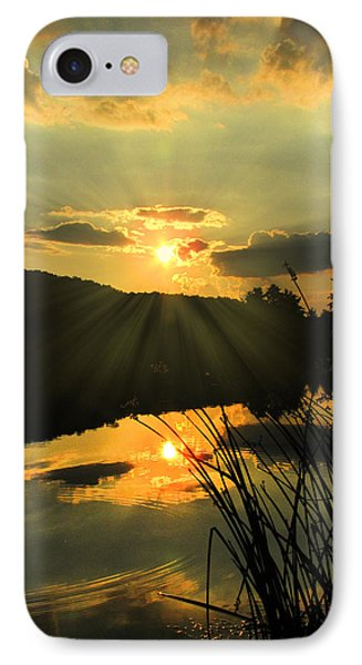 Golden Day IPhone Case by Cindy Haggerty