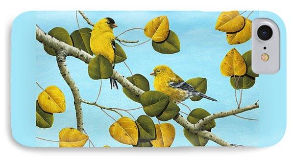 Finch iPhone 7 Case - Golden Days by Rick Bainbridge