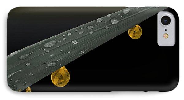 Golden Dew Phone Case by Angela A Stanton