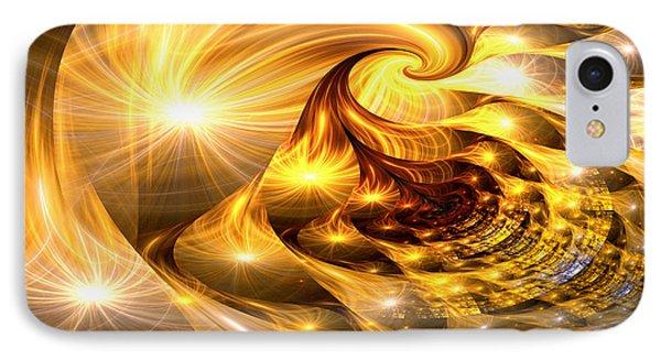 Golden Dreams II IPhone Case