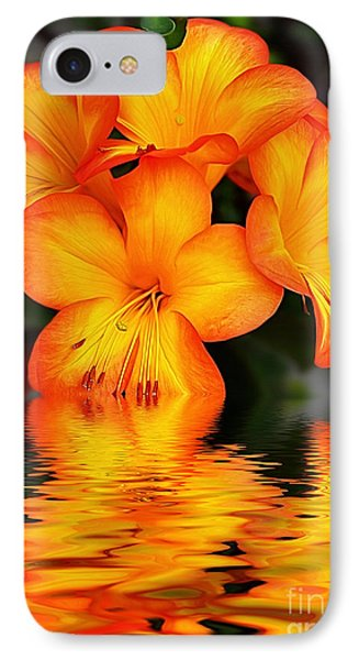 Golden Dreams IPhone Case by Kaye Menner