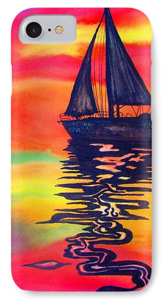 IPhone Case featuring the painting Golden Dreams by Lil Taylor