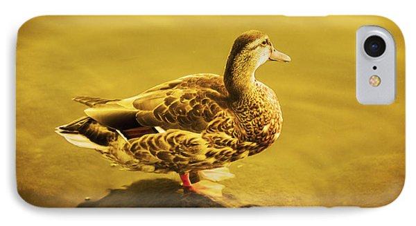 Golden Duck IPhone Case
