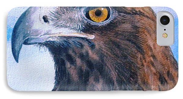 IPhone Case featuring the painting Golden Eagle by Sandra Phryce-Jones