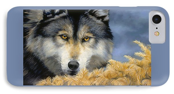 Golden Eyes IPhone Case by Lucie Bilodeau
