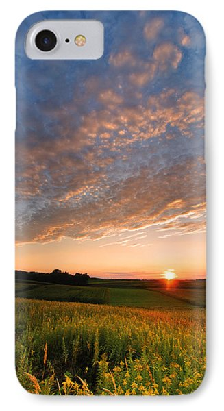 Golden Fields IPhone Case by Davorin Mance