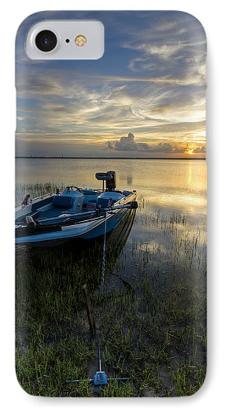 Golden Fishing Hour Phone Case by Debra and Dave Vanderlaan