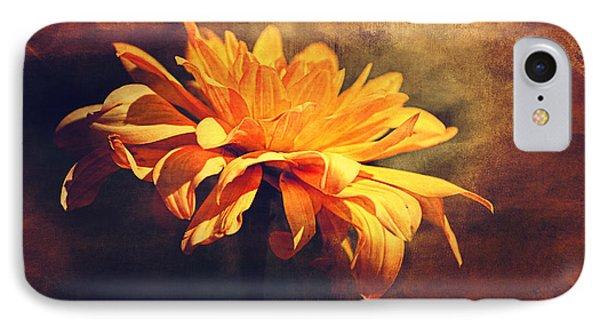 Golden Flower IPhone Case by Maria Angelica Maira