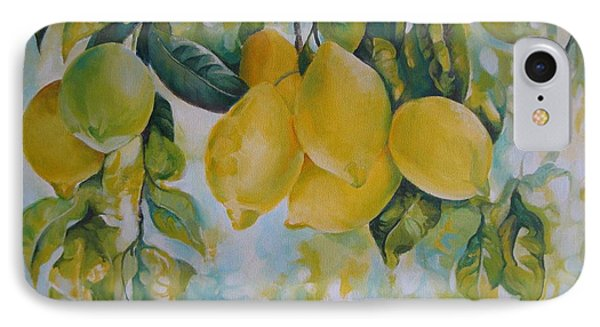 Golden Fruit IPhone Case by Elena Oleniuc