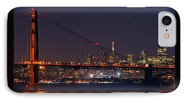 IPhone Case featuring the photograph Golden Gate 35mm Frame by Christopher McKenzie
