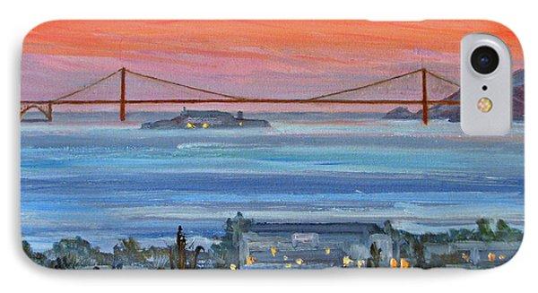 Golden Gate At Twilight IPhone Case by Robert Gerdes