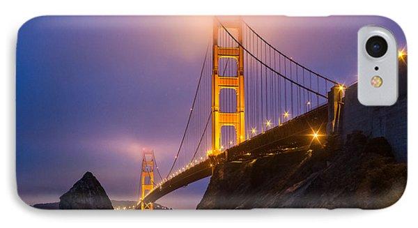 Golden Gate Beauty IPhone Case
