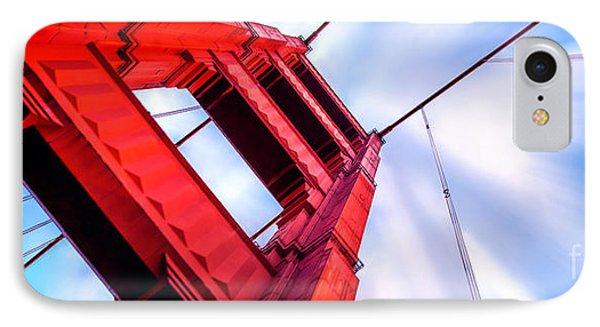 Golden Gate Boom IPhone Case by Az Jackson