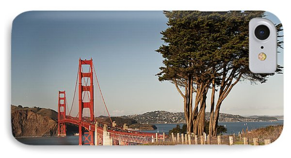 IPhone Case featuring the photograph Golden Gate Bridge 1 by Lee Kirchhevel