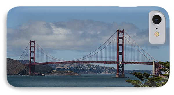 Golden Gate Bridge 2 IPhone Case by Judy Wolinsky