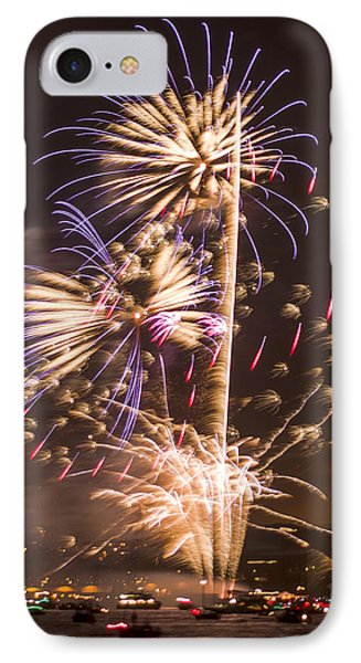 Golden Gate Bridge 75th Anniversary Fireworks 10 IPhone Case