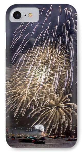 Golden Gate Bridge 75th Anniversary Fireworks 15 IPhone Case